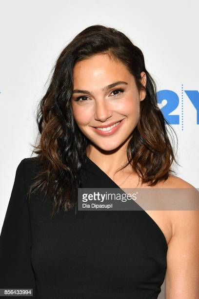 Gal Gadot attends Gal Gadot and Meher Tatna in Conversation with Carla Sosenko at 92nd Street Y on October 1 2017 in New York City