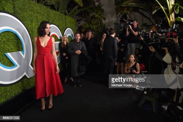Gal Gadot attends the 2017 GQ Men of the Year party at Chateau Marmont on December 7 2017 in Los Angeles California