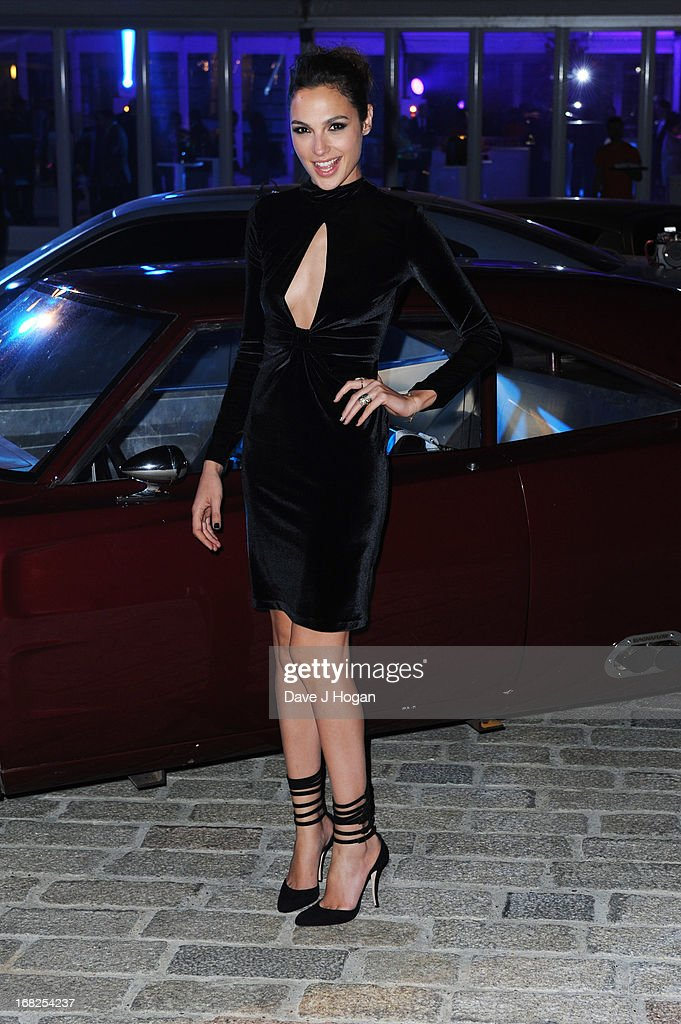 <a gi-track='captionPersonalityLinkClicked' href=/galleries/search?phrase=Gal+Gadot&family=editorial&specificpeople=4350069 ng-click='$event.stopPropagation()'>Gal Gadot</a> attends the world premiere after party of 'Fast And Furious 6' at Somerset House on May 7, 2013 in London, England.
