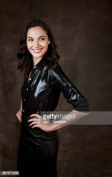 Gal Gadot is photographed for Los Angeles Times on October 30 2017 in Los Angeles California PUBLISHED IMAGE CREDIT MUST READ Jay L Clendenin/Los...