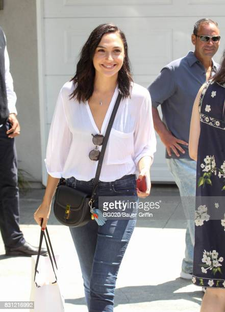 Gal Gadot is seen on August 13 2017 in Los Angeles California