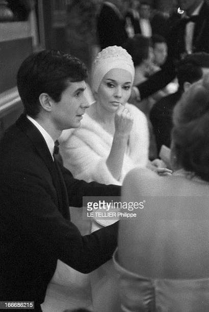 Gala At Paris Opera For The First Of The Film 'La Fayette' By Jean Dréville 1962 le 9 février un gala est donné à l'opéra de Paris à l'occasion de la...
