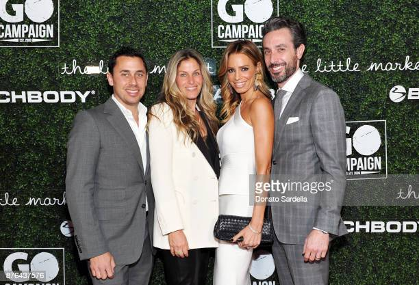 GO Gala Chair Member Nick Frenkel GO Gala Chair Member Nanci Frenkel and Gina Katz and Stuart Katz attend the 2017 GO Campaign Gala at NeueHouse Los...