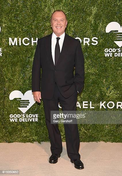 Gala cochair Michael Kors attends the 2016 God's Love We Deliver Golden Heart awards dinner at Spring Studios on October 17 2016 in New York City