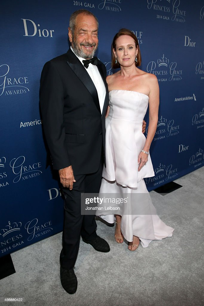 Gala CoChairs Dick Wolf and Noelle Wolf attend the 2014 Princess Grace Awards Gala with presenting sponsor Christian Dior Couture at the Beverly...