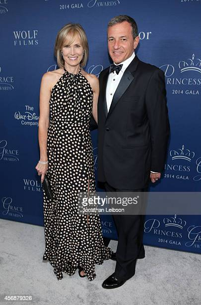 Gala cochairs Willow Bay and Bob Iger attend the 2014 Princess Grace Awards Gala with presenting sponsor Christian Dior Couture at the Beverly...