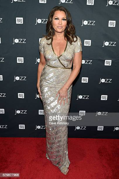 Gala Concert Host Vanessa Williams attends the Jazz at Lincoln Center 2016 Gala 'Jazz and Broadway' honoring Diana and Joe Dimenna and Ahmad Jamal at...