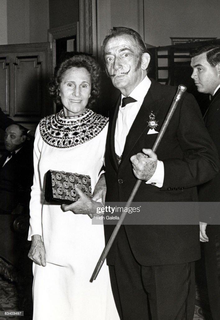Gala Dali and Salvador Dali