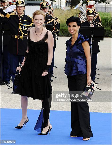 Gala Diner At The Petit Palais For The Paris' Union For The Mediterranean Founding Summit In Paris France On July 13 2008 Minister for ecology...