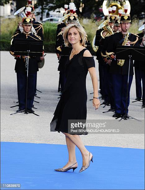 Gala Diner At The Petit Palais For The Paris' Union For The Mediterranean Founding Summit In Paris France On July 13 2008 Minister for higher...