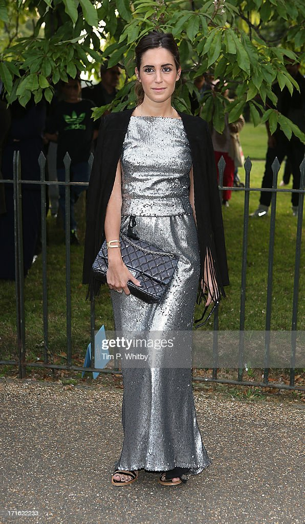 Gala Gonzalez attends the annual Serpentine Gallery summer party at The Serpentine Gallery on June 26, 2013 in London, England.
