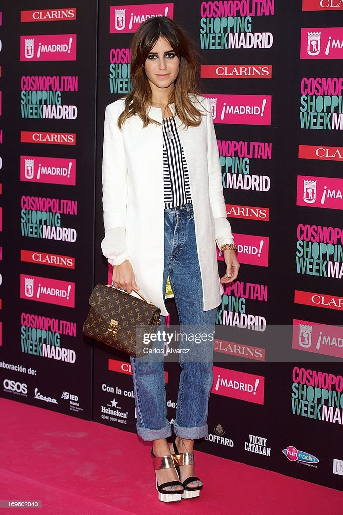 <a gi-track='captionPersonalityLinkClicked' href=/galleries/search?phrase=Gala+Gonzalez&family=editorial&specificpeople=7511211 ng-click='$event.stopPropagation()'>Gala Gonzalez</a> attends the 'Cosmopolitan Shopping Week' party at the Plaza de Callao on May 28, 2013 in Madrid, Spain.