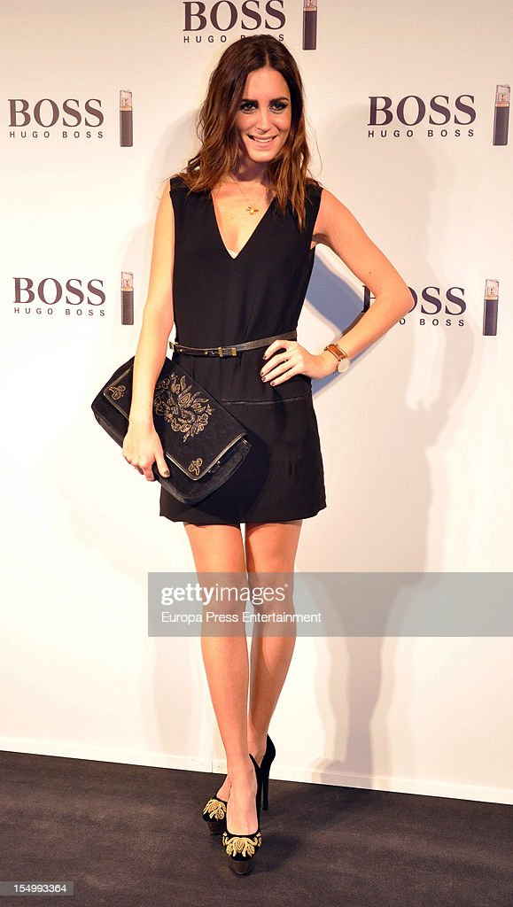 <a gi-track='captionPersonalityLinkClicked' href=/galleries/search?phrase=Gala+Gonzalez&family=editorial&specificpeople=7511211 ng-click='$event.stopPropagation()'>Gala Gonzalez</a> attends the launch of 'Boss Nuit Pour Femme' fragrance on October 29, 2012 in Madrid, Spain.