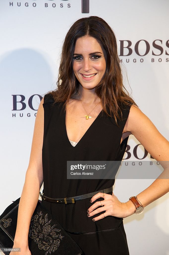 Gala Gonzalez attends the new 'Boss Nuit Pour Femme' Hugo Boss parfum presentation at the Neptuno Palace on October 29, 2012 in Madrid, Spain.