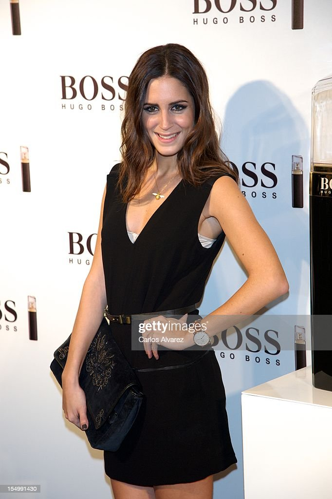 <a gi-track='captionPersonalityLinkClicked' href=/galleries/search?phrase=Gala+Gonzalez&family=editorial&specificpeople=7511211 ng-click='$event.stopPropagation()'>Gala Gonzalez</a> attends the new 'Boss Nuit Pour Femme' Hugo Boss parfum presentation at the Neptuno Palace on October 29, 2012 in Madrid, Spain.