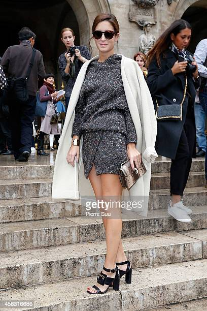 Gala Gonzalez attends the Stella McCartney show as part of the Paris Fashion Week Womenswear Spring/Summer 2015 on September 29 2014 in Paris France