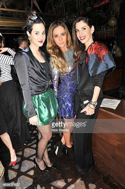 Gala Gonzalez Cristiana Arcangeli and Camila Coutinho attend the Matthew Williamson afterparty in association with Cristiana Arcangeli and...