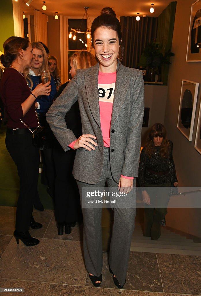 Gala Gordon attends the Bella Freud store launch in Marylebone on December 9, 2015 in London, England.
