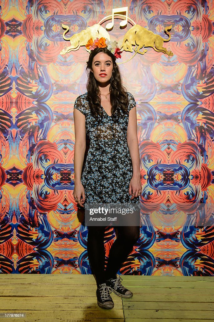 Gala Gordon poses for a portrait at the Red Bull Music Academy Sound System at Notting Hill Carnival at Notting Hill on August 26, 2013 in London, England.