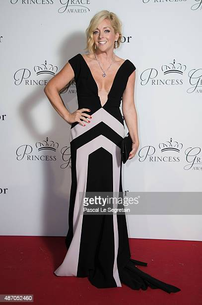 Gala Host Jane Krakowski attends the 2015 Princess Grace Awards Gala With Presenting Sponsor Christian Dior Couture at Monaco Palace on September 5...