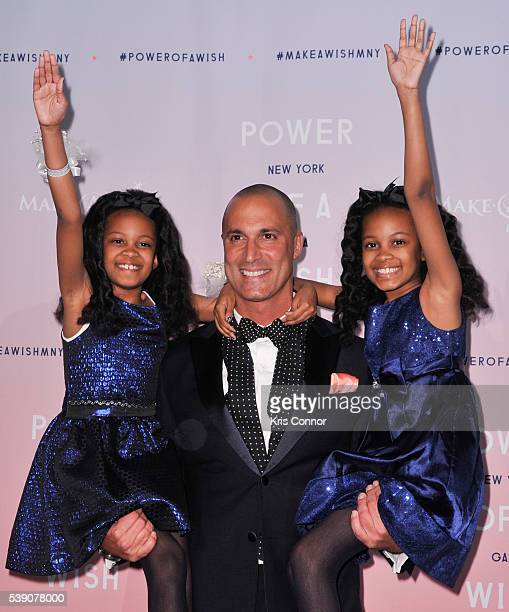Gala Host Nigel Barker poses for photographers during the 2016 MakeAWish Metro New York Gala at Cipriani Wall Streeton June 9 2016 in New York City