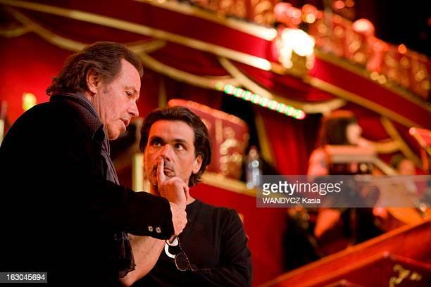 Gala Of The Union Of Artists 2010 At The Winter Circus In Paris The Rehearsals Paris 25 mars 2010 répétitions pour le nouveau Gala de l'Union des...