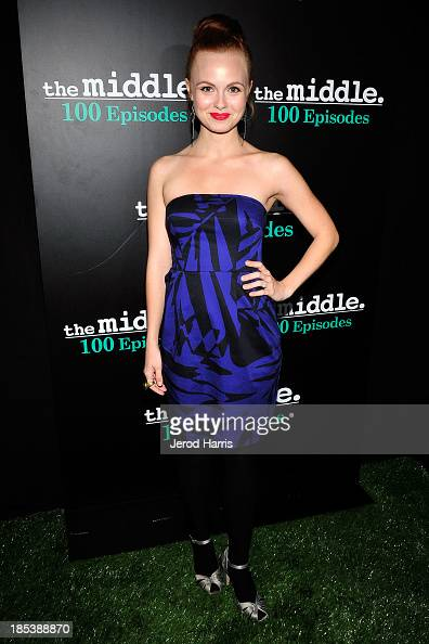 Galadriel Stineman arrives at 'The Middle' 100th Episode Celebration ...