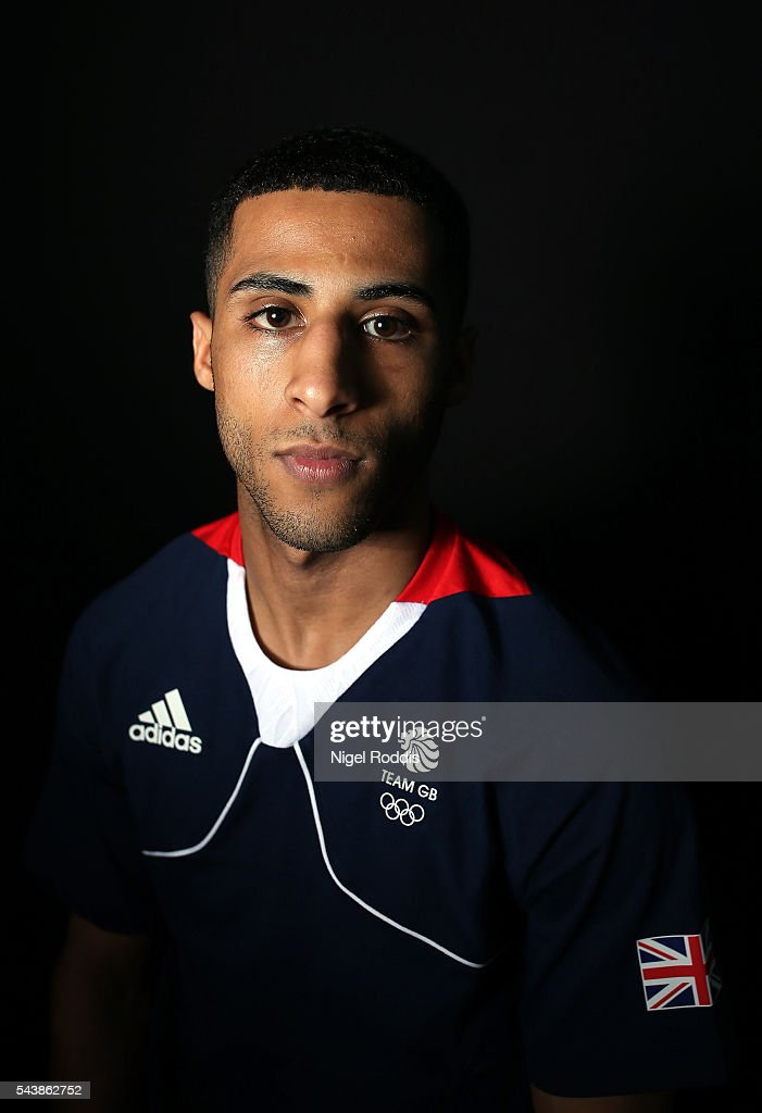 <a gi-track='captionPersonalityLinkClicked' href=/galleries/search?phrase=Galal+Yafai&family=editorial&specificpeople=15900384 ng-click='$event.stopPropagation()'>Galal Yafai</a> of Great Britain during the Announcement of Boxing Athletes Named in Team GB for the Rio 2016 Olympic Games at the Institute of Sport on June 30, 2016 in Sheffield, England.
