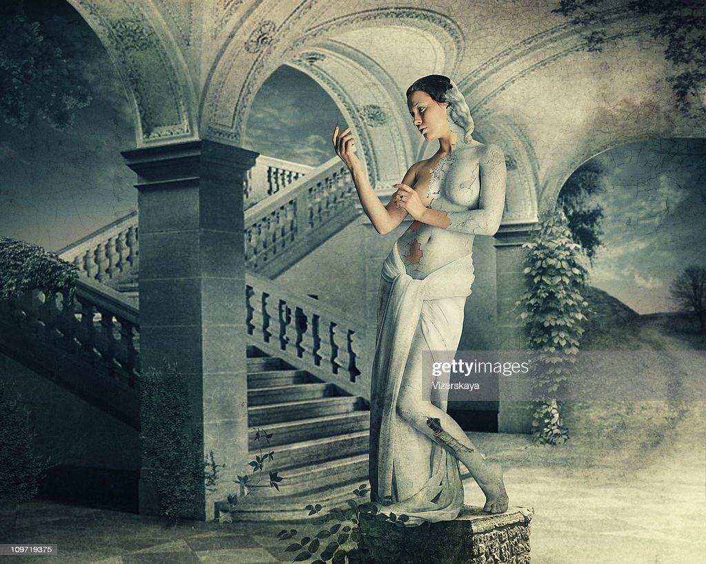 Galatea. Classica mitologia greca. : Foto stock