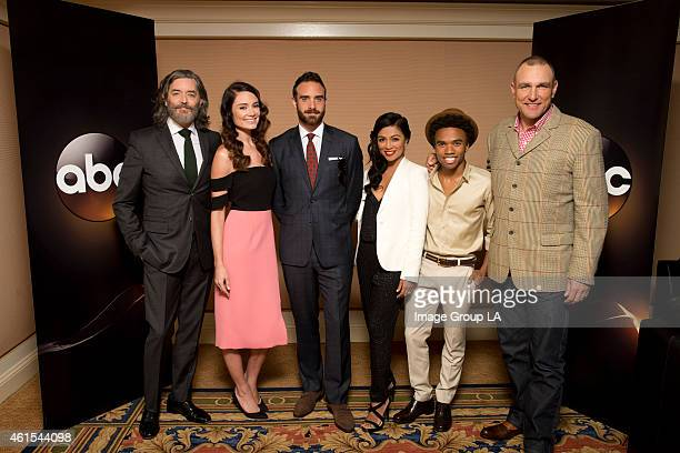 TOUR 2015 'Galavant' The cast and executive producers of 'Galavant' at Disney | ABC Television Group's Winter Press Tour 2015