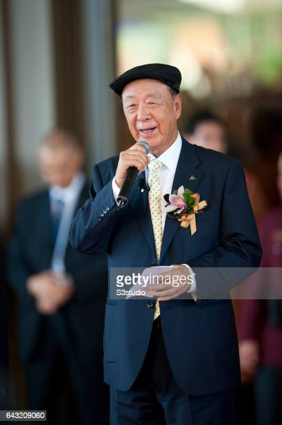 Galaxy Entertainment Group Chairman Dr Chewoo Lui on the day of the Galaxy Macau Grand Opening on Sunday May 15 2011