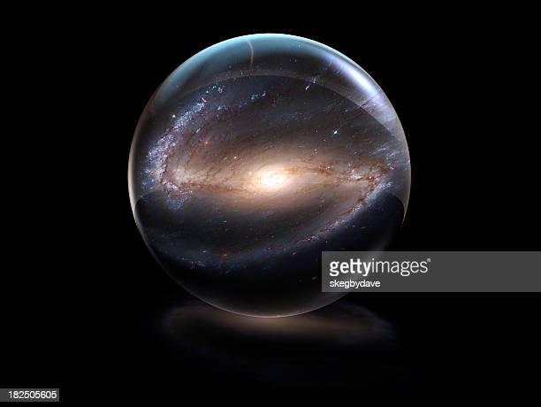 Galaxy in Crystal Ball