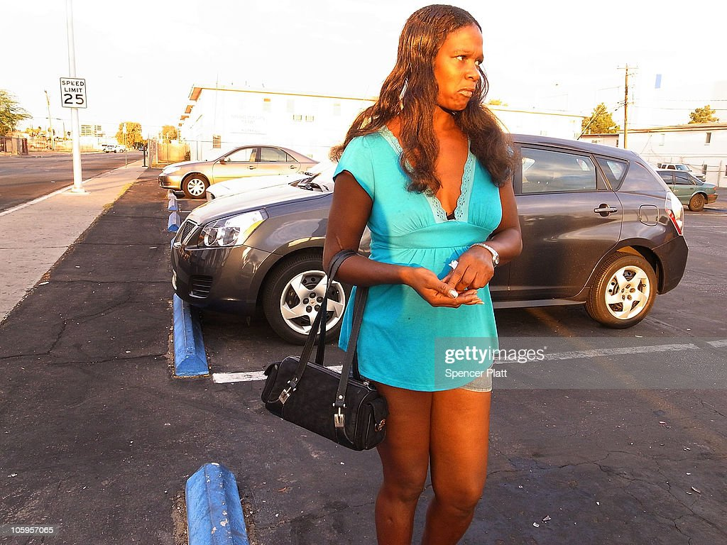 Gale, an unemployed former restaurant worker, works as a prostitute on Las Vegas Boulevard on October 22, 2010 in Las Vegas, Nevada. Nevada once had among the lowest unemployment rates in the United States at 3.8 percent but has since fallen on difficult times. Las Vegas, the gaming capital of America, has been especially hard hit with unemployment currently at 14.7 percent and the highest foreclosure rate in the nation. Among the sparkling hotels and casinos downtown are dozens of dormant construction projects and hotels offering rock-bottom rates. As the rest of the country slowly begins to see some economic progress, Las Vegas is still in the midst of the economic downturn.