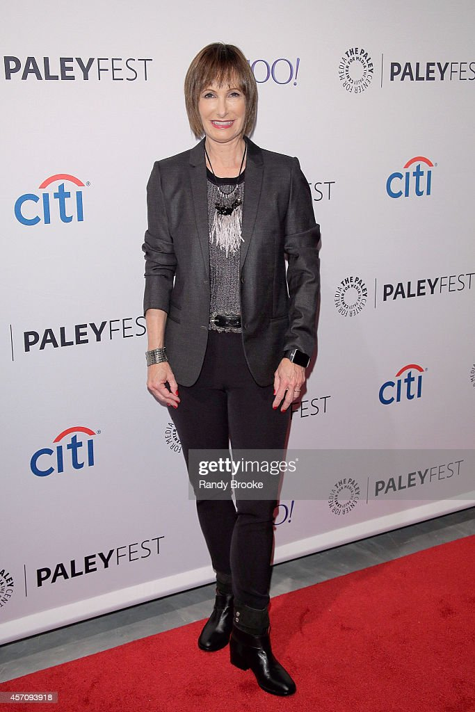 <a gi-track='captionPersonalityLinkClicked' href=/galleries/search?phrase=Gale+Anne+Hurd&family=editorial&specificpeople=228412 ng-click='$event.stopPropagation()'>Gale Anne Hurd</a> attends the 2nd Annual Paleyfest New York Presents: 'The Walking Dead' at Paley Center For Media on October 11, 2014 in New York, New York.