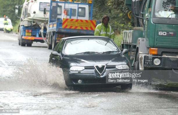 Gale force winds caused havoc in the south of England today with landslips fallen trees and severe flooding Weather warnings were in place for the...