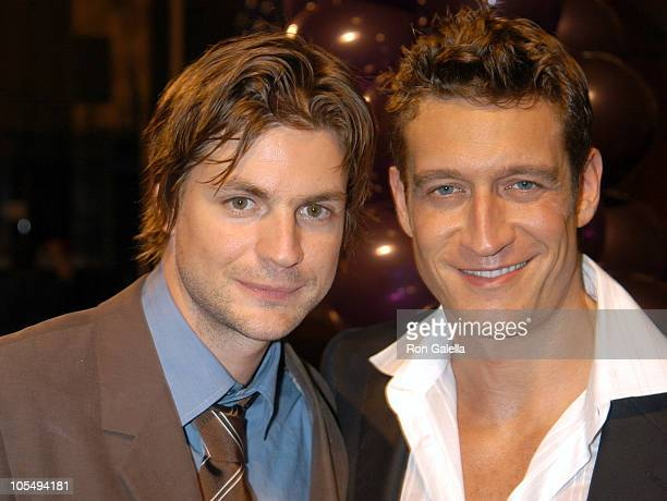 Gale Harold and Robert Gant