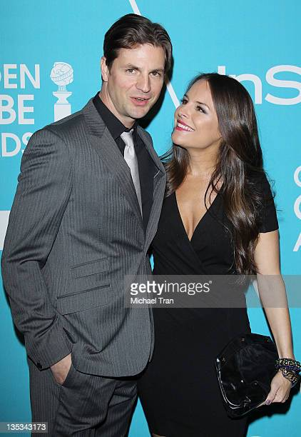 Gale Harold and Yara Martinez arrive at The Hollywood Foreign Press Association and InStyle hosts 'A Night of Firsts' held at Cecconi's Restaurant on...