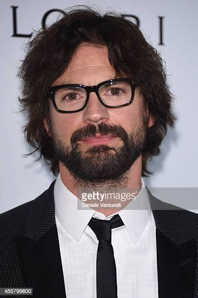 Gale Harold attends amfAR Milano 2014 as a part of Milan Fashion Week Womenswear Spring/Summer 2015 on September 20 2014 in Milan Italy