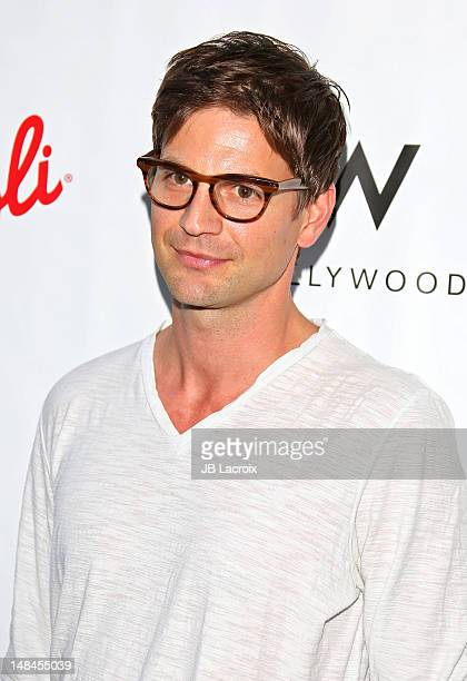 Gale Harold attends the Logo's AfterEllen AfterElton Inaugural 'Hot 100 Party' held at Station Hollywood at W Hollywood Hotel on July 16 2012 in...