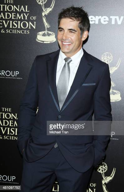 Galen Gering arrives at the 41st Annual Daytime Emmy Awards held at The Beverly Hilton Hotel on June 22 2014 in Beverly Hills California