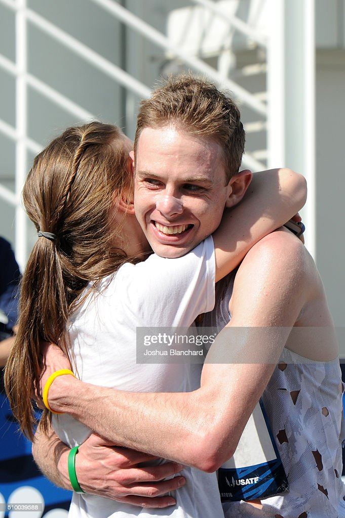 <a gi-track='captionPersonalityLinkClicked' href=/galleries/search?phrase=Galen+Rupp&family=editorial&specificpeople=4076972 ng-click='$event.stopPropagation()'>Galen Rupp</a> celebrates after his first place finish in the U.S. Olympic Team Trials Men's Marathon on February 13, 2016 in Los Angeles, California.