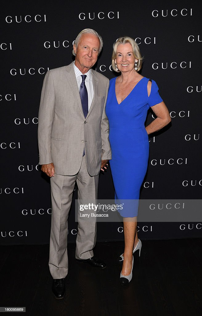 Galen Weston (L) and wife Hilary Weston attend the Gucci Hosted Private Screening And Cocktail Party With James Franco To Present 'The Director' during the 2013 Toronto International Film Festival held at Thompson Hotel Rooftop on September 8, 2013 in Toronto, Canada.