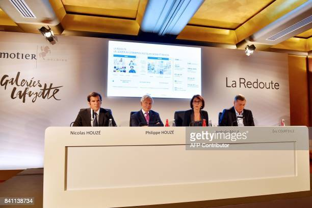 Galeries Lafayette Chief Executive Officer Nicolas Houze Galeries Lafayette Group Executive Board Chairman Philippe Houze La Redoute CoChairmen...