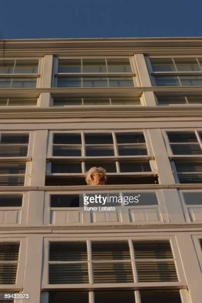 Galicia Betanzos Woman in a window