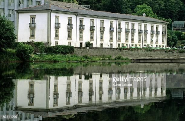 Galicia Lugo Spa beside Mino river