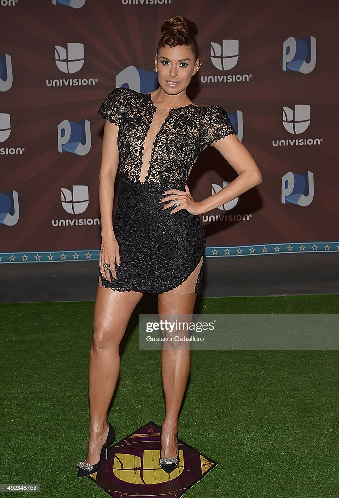 Galilea Monitjo attends the Premios Juventud 2014 at The BankUnited Center on July 17, 2014 in Coral Gables, Florida.