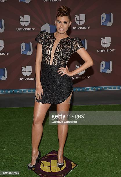 Galilea Monitjo attends the Premios Juventud 2014 at The BankUnited Center on July 17 2014 in Coral Gables Florida