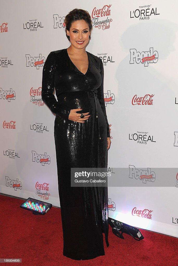 Galilea Montijo attends People en Epanol's Las Estrellas del Ano 2011 at Rubell Family Collection on December 8, 2011 in Miami, Florida.
