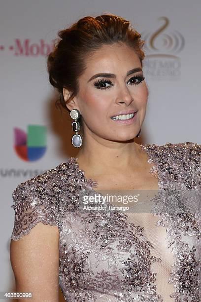 Galilea Montijo attends the 2015 Premios Lo Nuestros Awards at American Airlines Arena on February 19 2015 in Miami Florida