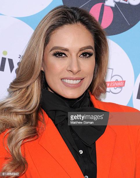 Galilea Montijo attends the 5th Annual Festival PEOPLE En Espanol Day 1 at the Jacob Javitz Center on October 15 2016 in New York City